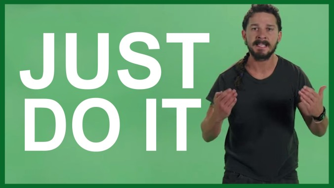 Comme le dit si bien Shia Labeouf... https://www.youtube.com/watch?v=Z6gG3tKDBlk